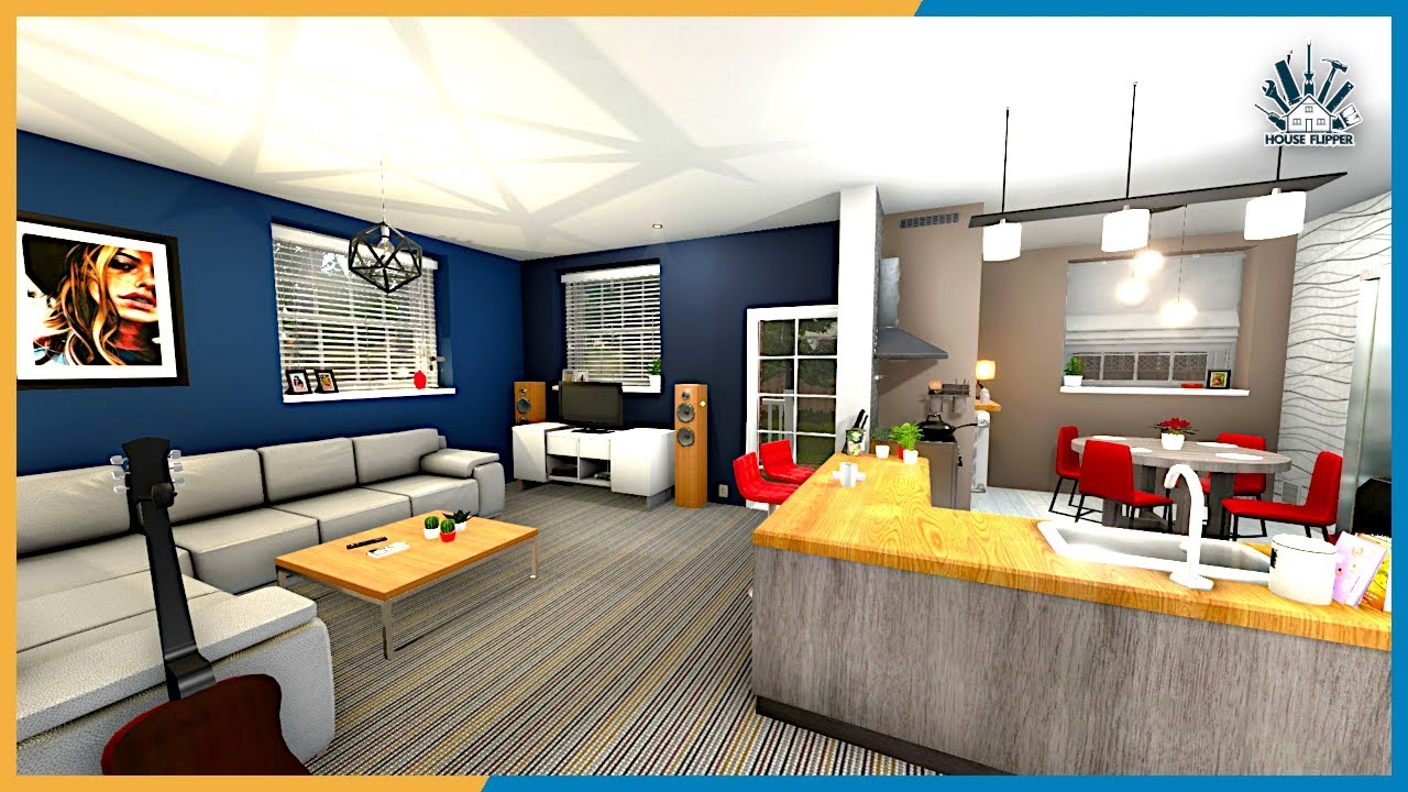 Open Plan Design The Boring House House Flipper Youtube