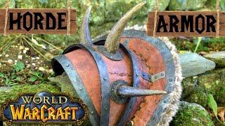 How To Make A Warcraft Orc Armor   Shoulder   Horde Cosplay, Props & Tutorials