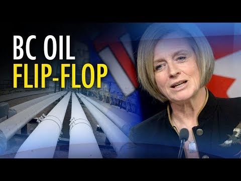 """Notley """"poaches"""" UCP policy to fight BC's pipeline blockade"""
