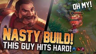 NASTY ROURKE BUILD!! [Arena of Valor] - Rourke Jungle Gameplay