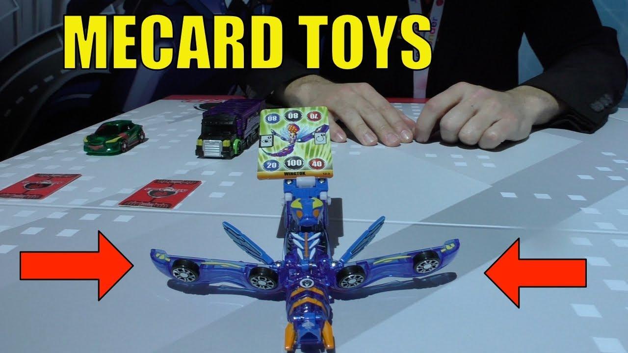 749941b3c39 MECARD Mecardimals, Mega Dracha and More Mecard Toys 2018 - YouTube