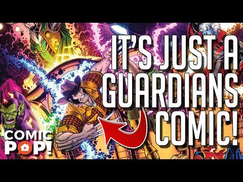 Infinity Countdown is literally just a continuation of Guardians of the Galaxy (Professor Thorgi)