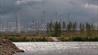 В Карелии завершено строительство плотины для создания водохранилища Белопорожских ГЭС.