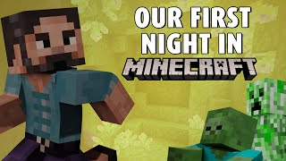 Our first night on a new Minecraft 1.17 server ⛏