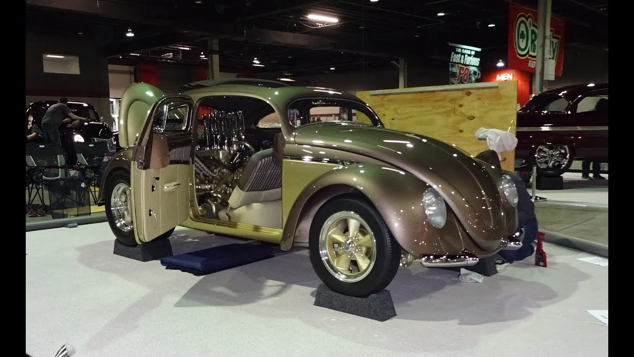 """FIRED UP """" Berlin Buick """" Engine 1956 Volkswagen VW Beetle Custom on My Car Story with Lou ..."""