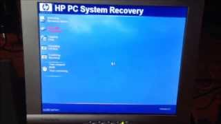 Restoring The HP Pavilion 753n To The Factory Windows Install