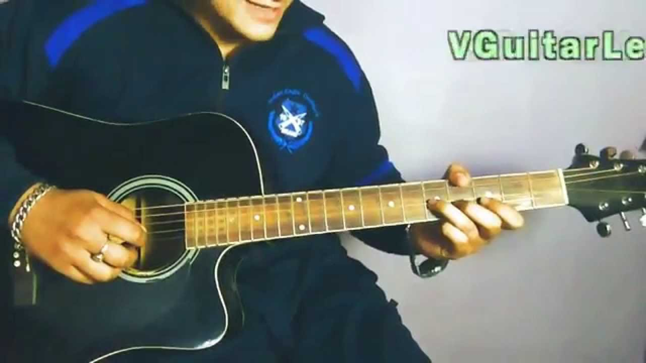 KABHI JO BADAL BARSE LEAD GUITAR TUTORIAL : Arijit Singh Song Lesson : Vikas Sharma - YouTube