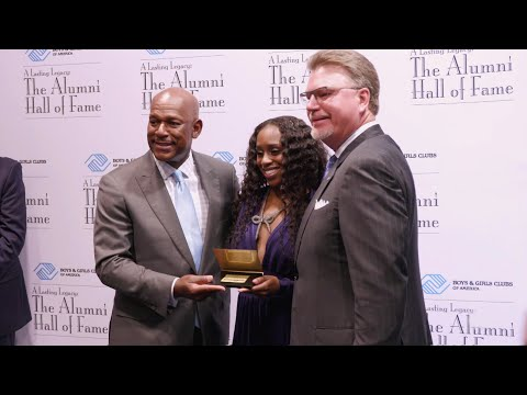 Naomi is inducted into the Boys & Girls Clubs of America Hall of Fame