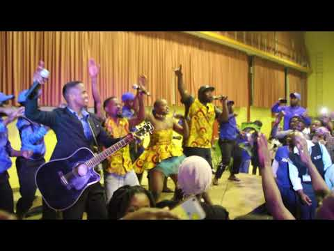 Khuzani Mpungose ft Afro Soul - Inkomo - Live at UKZN Edgewood Campus BEAwards17