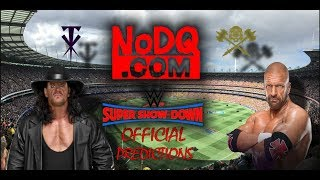 NoDQ's official preview and predictions for WWE Super Show Down 2018 #WWESSD thumbnail