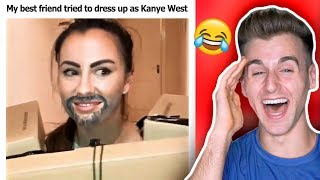 Kanye West and Lil Pump - I Love It Challenge (Best Compilations)