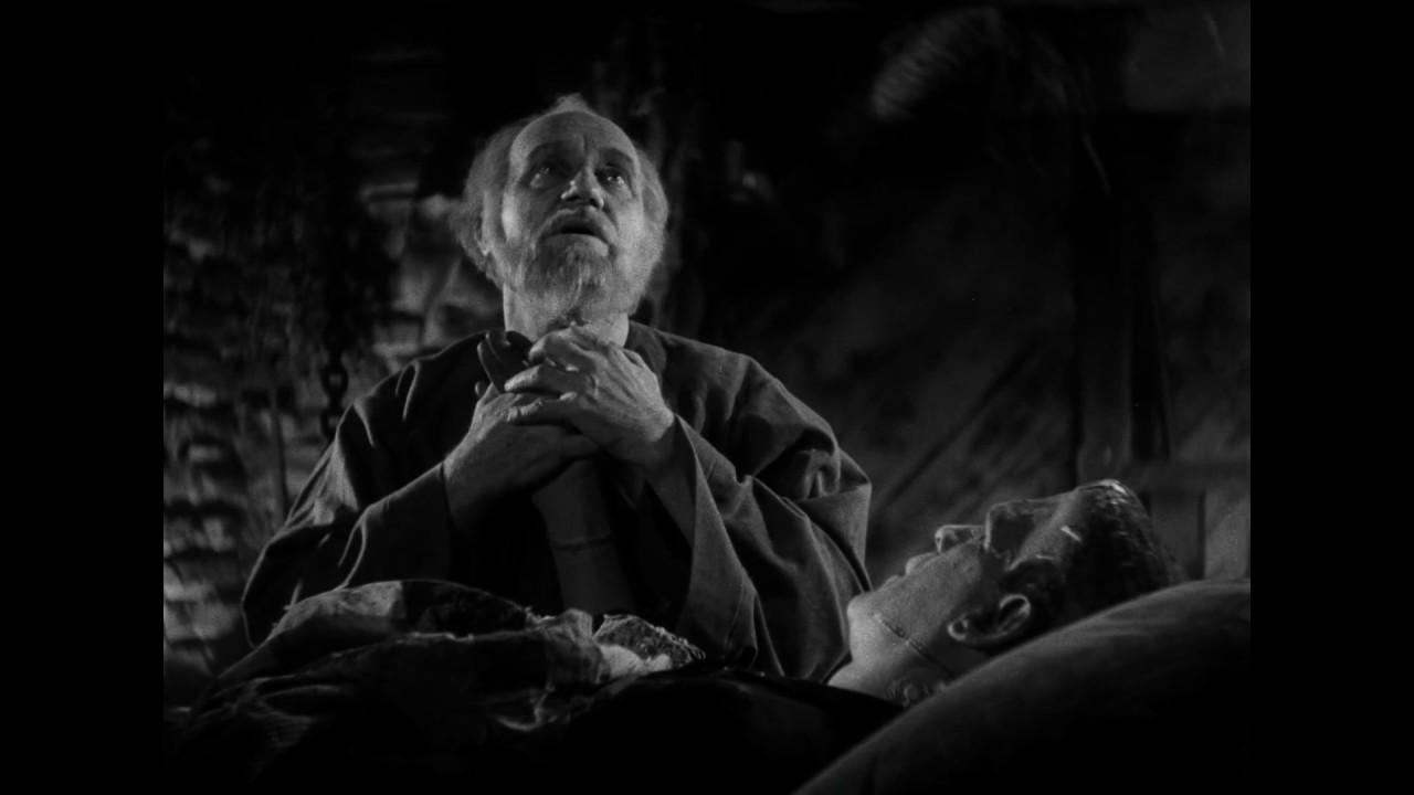 Frankenstein S Monster Meets The Blind Man Bride Of Frankenstein