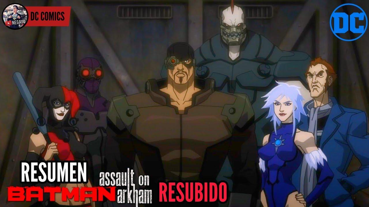 Download BATMAN: ATAQUE A ARKHAM (Assault on Arkham) | RESUMEN COMPLETO