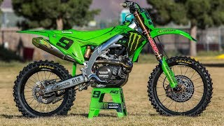Adam Cianciarulo's Monster Cup Winning Kawasaki KX450 - Motocross Action Magazine