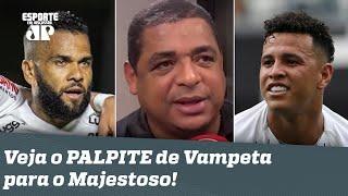 Vai MATAR a RESSACA? OLHA o que Vampeta falou ANTES de São Paulo x Corinthians!