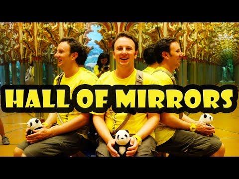 Best Mirror Maze in the World: Alhambra Hall of Mirrors in Lucerne Switzerland