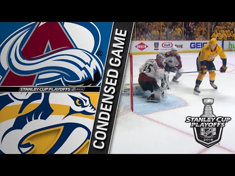 04/14/18 First Round, Gm2: Avalanche @ Predators