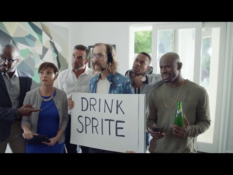 The SuperBowl sprite commercial but Lebron James is Loud Nigra