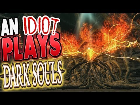 Dark Souls: An Idiot Tries To Defeat The Bed Of Chaos