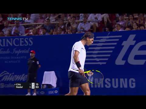 Hot Shot: Nadal Turns Defence To Offence At Acapulco 2017