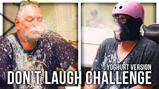 TRY NOT TO LAUGH CHALLENGE (YOGHURT VERSION)