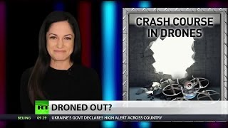 Drone crashes on the floor of Congress