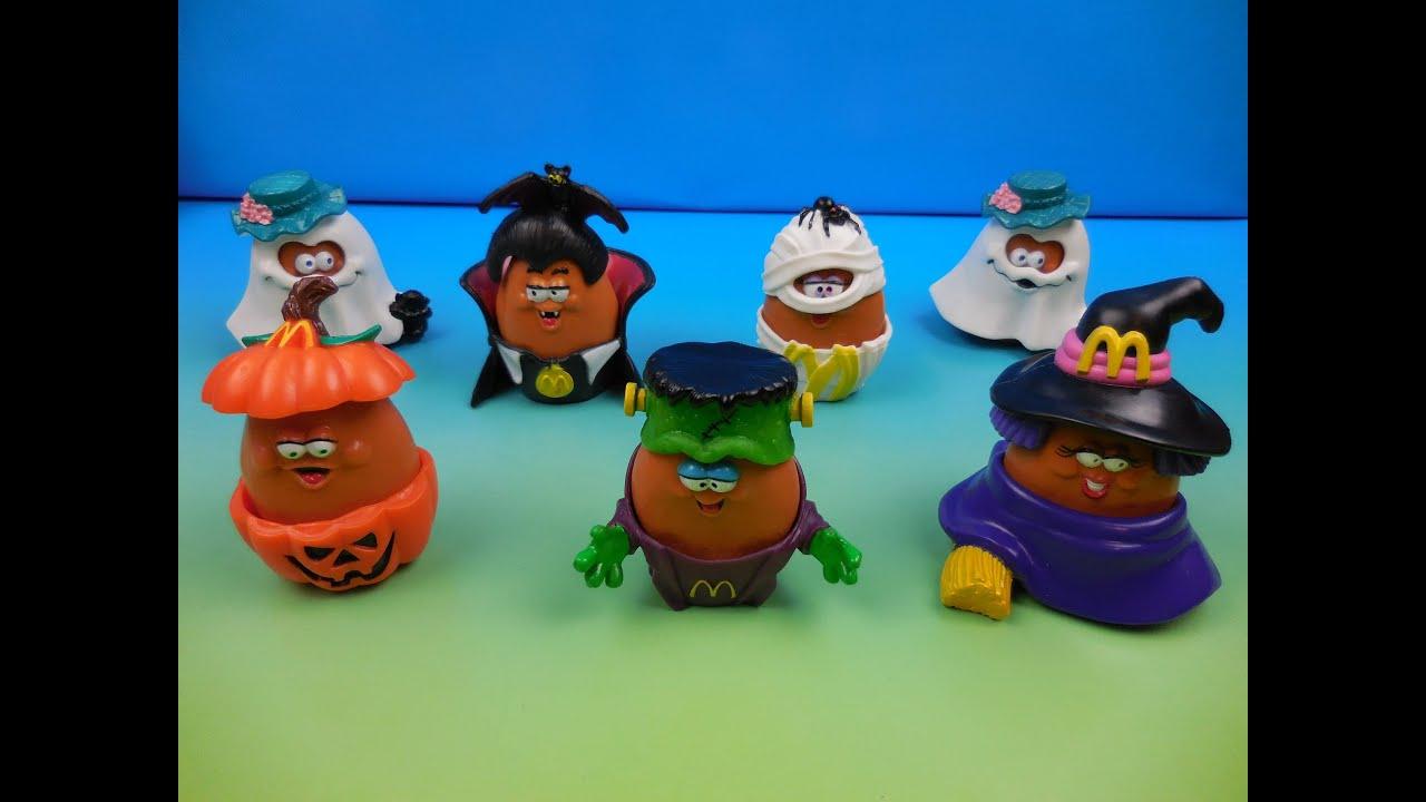 1992 halloween mcnugget buddies set of 7 mcdonalds happy meal kids