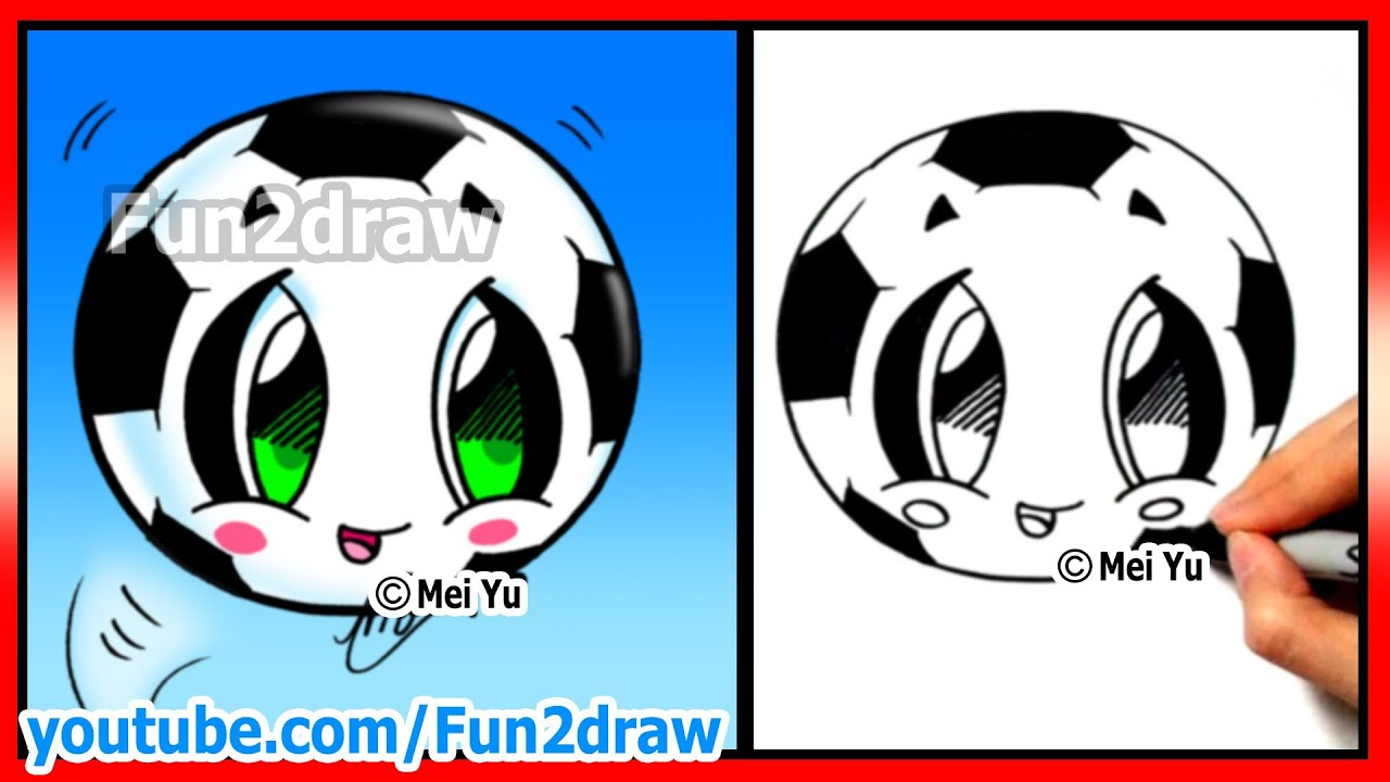 how to draw soccer ball football fifa world cup learn how to