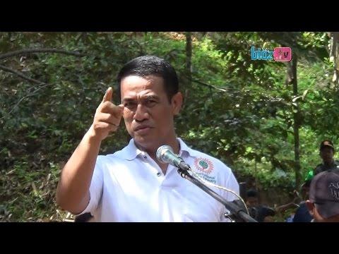 Pidato Bijak & Nyentrik Ala Menteri Pertanian Di Tengah Hutan Trenggalek JATIM - bioz.tv