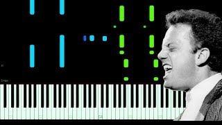 Billy Joel - Honesty Piano Tutorial