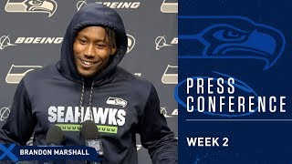 Seahawks Wide Receiver Brandon Marshall Week 2 Press Conference