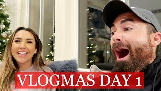SHARING OUR EXCITING ANNOUNCEMENT  | ALEX AND MICHAEL VLOGMAS!