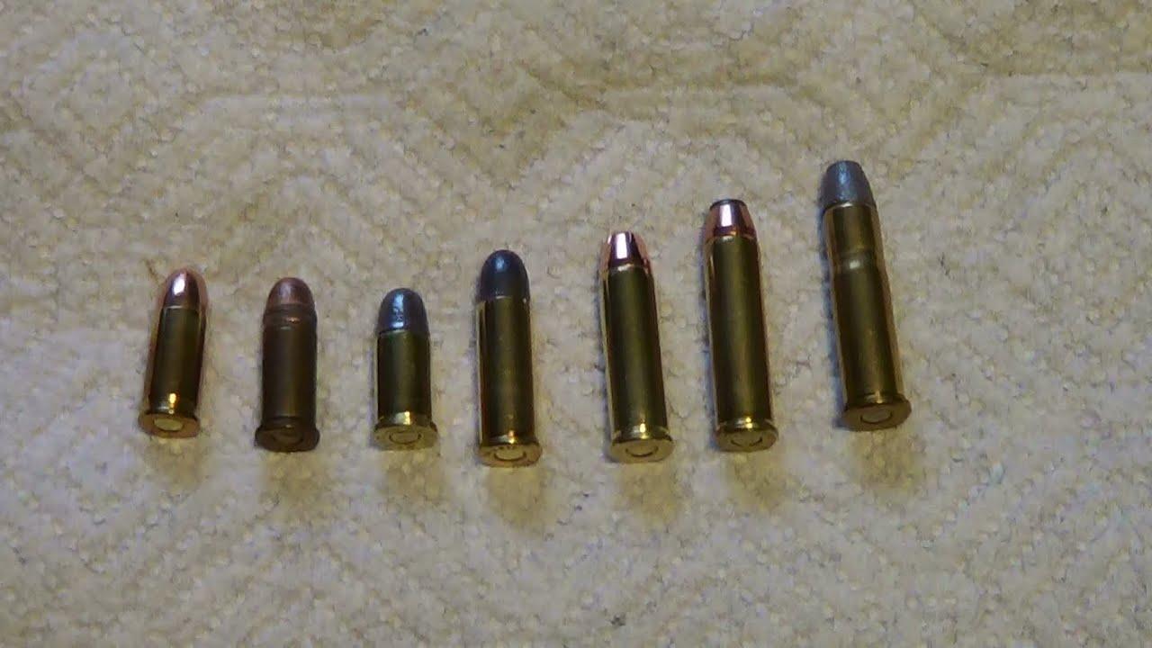 32 caliber ammo comparison youtube