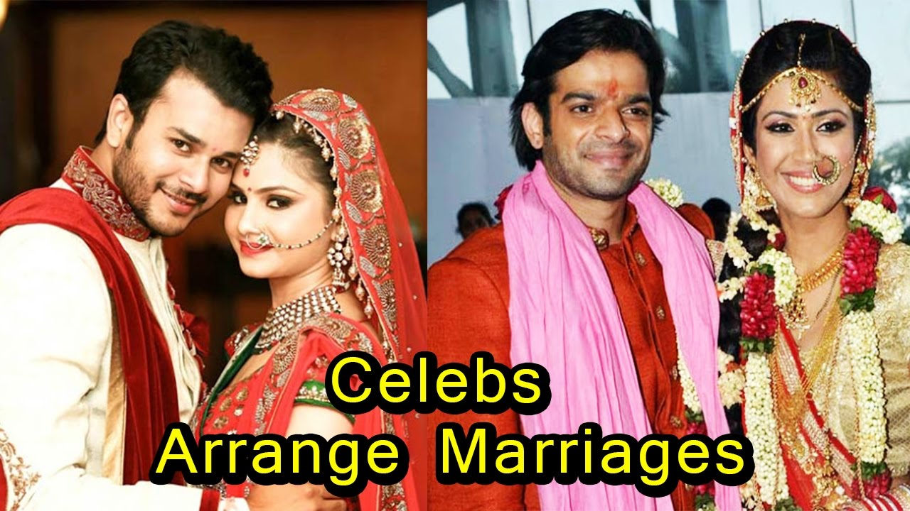 8 TV And Bollywood Celebrities Who Had An Arrange Marriage