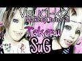 ●•☆ Visual-kei Makeup Tutorial ☆• || Takeru SuG - P!NK masquerade look