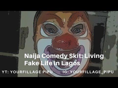 Download (Naija comedy skit) Living fake life in Lagos