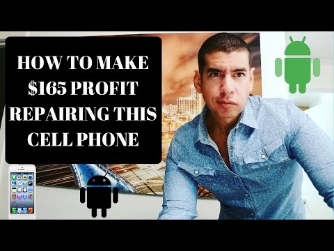 HOW TO MAKE $165 IN PROFIT PER HOUR REPAIRING THE SAMSUNG GALAXY S7 EDGE GLASS SCREEN
