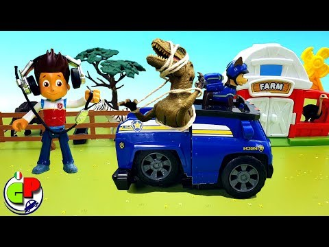 Paw patrol chase learns to use magic mailbox and wins biggest toys