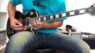 シン リジー(ジョン サイクス)のコールド スウェット の ギターを弾いて...