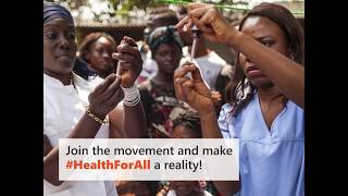 Health for all - World Health Day 2018