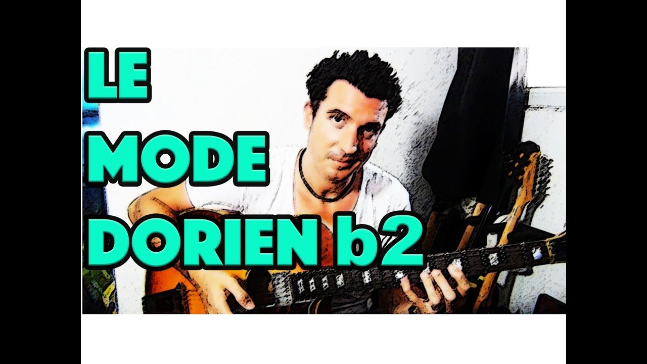 LE MODE DORIEN b2 - LE GUITAR VLOG 050