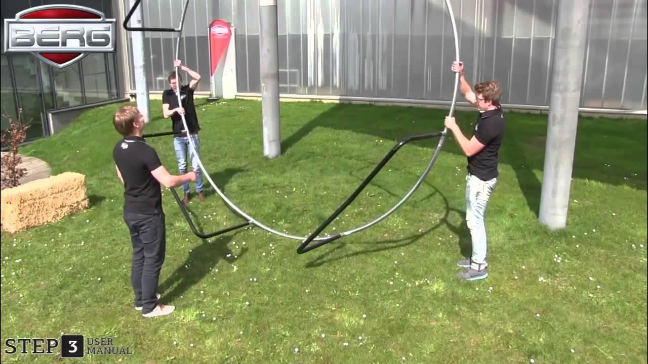 Helt nya BERG Champion studsmatta - montering - YouTube FL-82