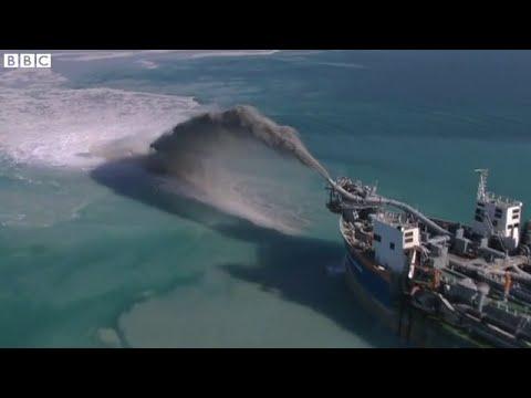 Building re starts on Dubai's World islands project, BBC News