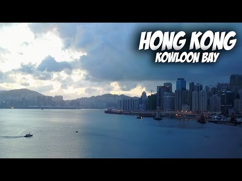 Drone flying in Kowloon Bay - Hong Kong | Travel Vlog #49