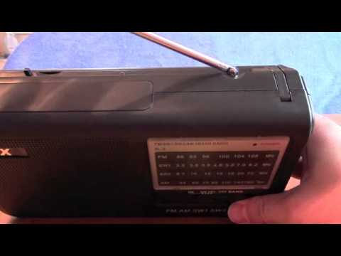 QFX AM FM SW Radio Model R3 Cheap Chinese radio