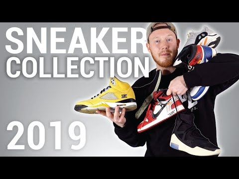 My ENTIRE Sneaker Collection! 2019 Air Jordan, OFF WHITE Nike , Yeezy, Adidas etc