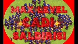165 Max Level Cadı Saldırısı (Çılgınca) Clash Of Clans