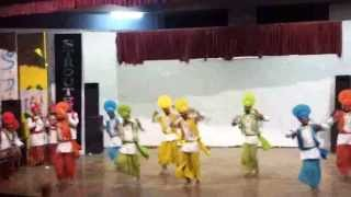 BHANGRA BY PTUGZS CAMPUS BATHINDA GOLD MEDALIST AT SATURNALIA