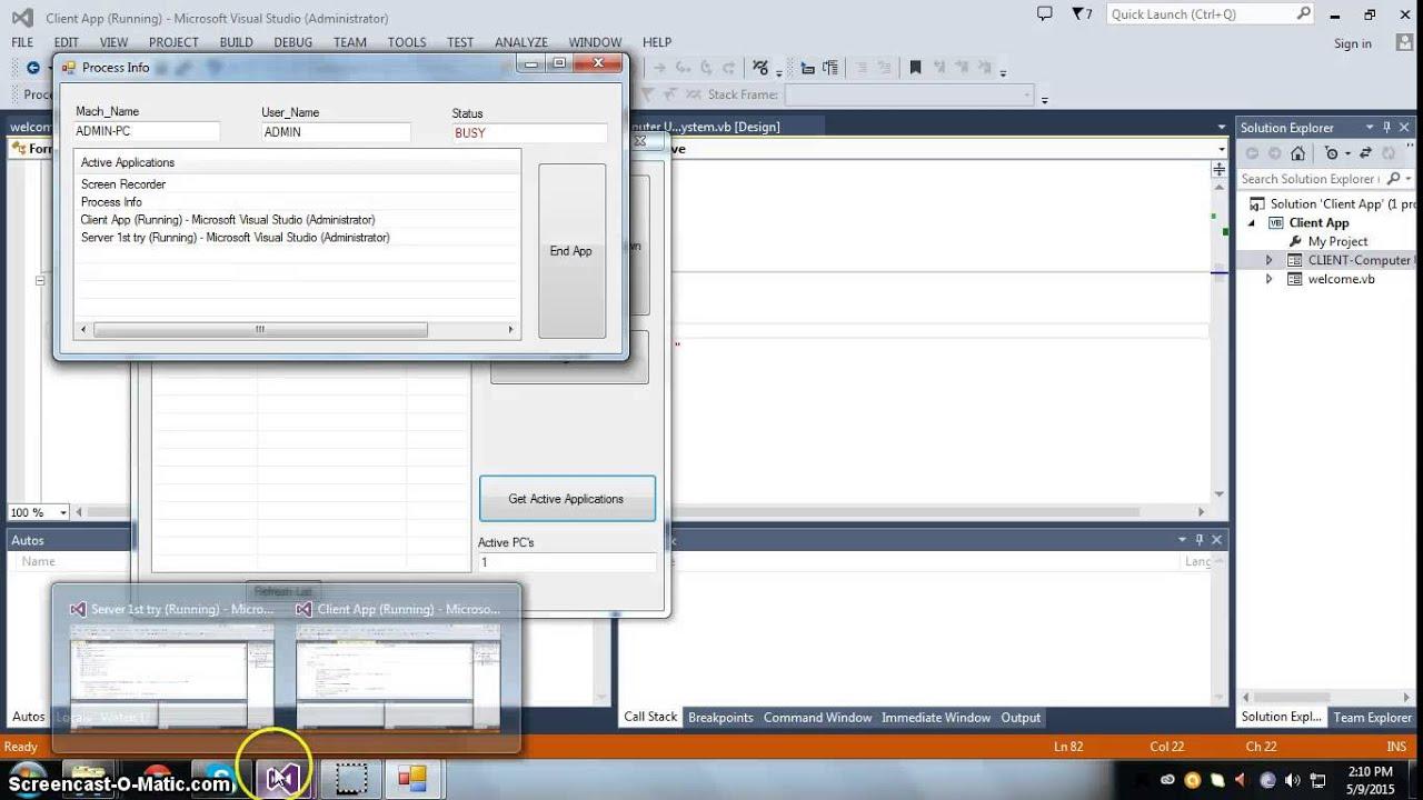 Server Monitoring Vb Net - SysAlive – VB app for monitoring