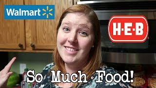 Family of 6 Large Monthly Grocery Haul & Meal Plan